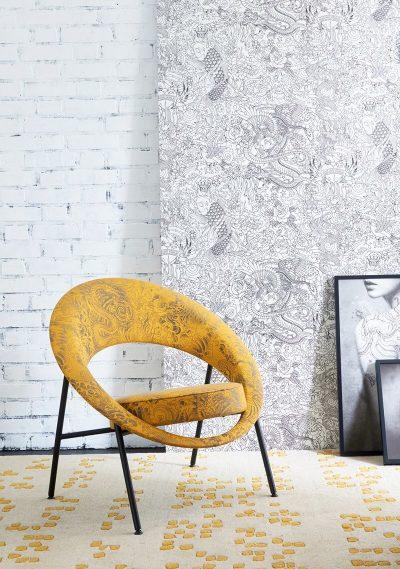 Réédition du fauteuil Saturne par BUROV