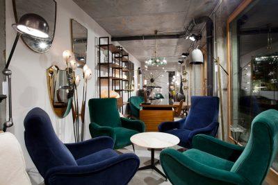 Atelier 55, Galerie de design vintage