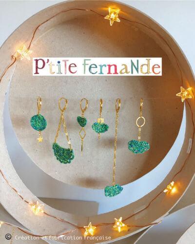 p'tite Fernande, puces design