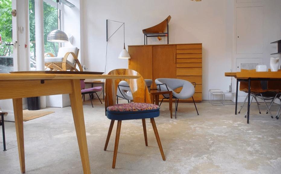 Design Vintage à acheter sur Les Puces du Design avec la sélection de Savoir S'assoir
