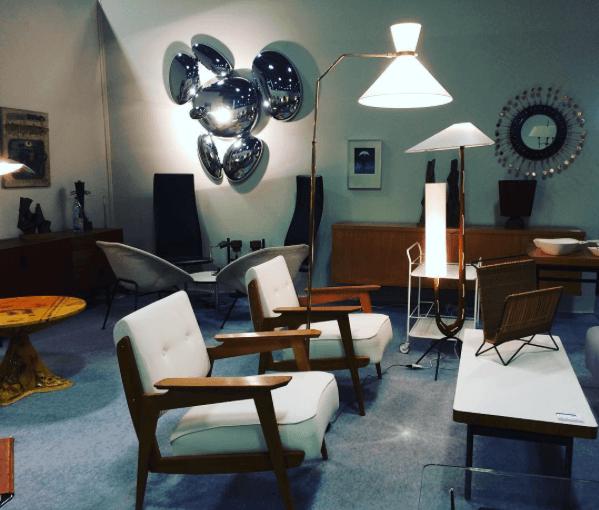 La Galerie de Monval sur Les Puces du Design 2017