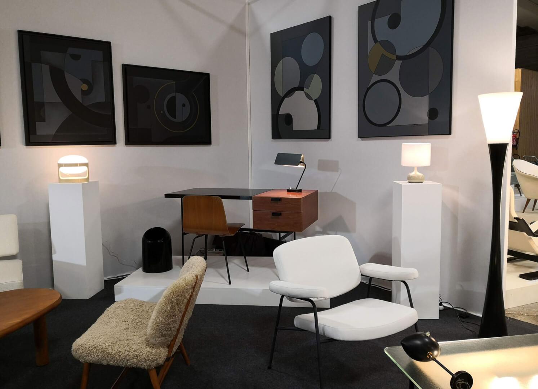 Design Vintage à acheter sur Les Puces du Design avec la sélection de la Galerie Fabien Pigio