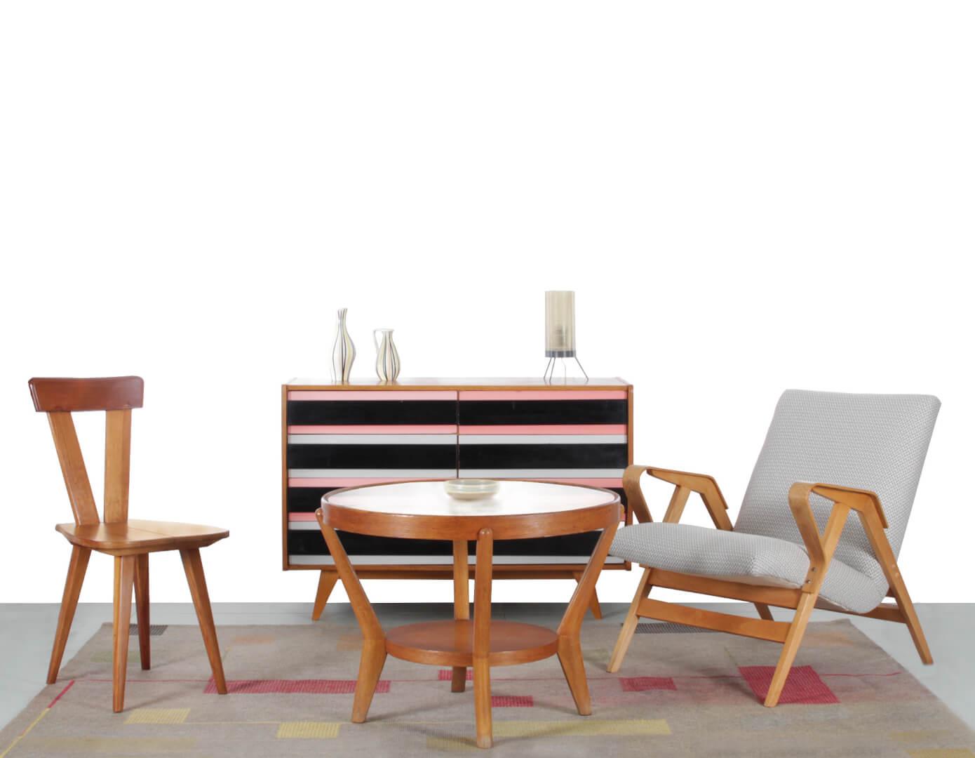 Design Vintage à acheter sur Les Puces du Design avec la sélection de la Galerie Parallèle